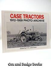 Case Tractors 1912-1959 Photo archive Iconografix 1st 1995 Farm machinery