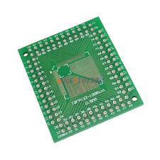 10Pcs QFP/TQFP/FQFP/LQFP 32/44/64/80/100 To DIP Adapter PCB Board Converter