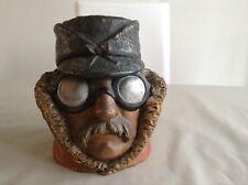 Rare Antique Figural Tobacco Jar / Humidor Automobilia De Dion-Bouton