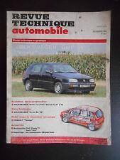 """Revue technique automobile n°557 12/1993 Volkswagen """"Golf"""" et """"Vento"""""""