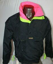 Vtg 90s Columbia Sportswear Windbreaker Jacket Colorblock Mens sz S Front Pocket