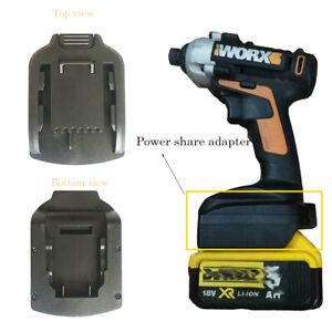 adapter for dewalt 18/20V li-ion battery convert for Worx 20V max powershare