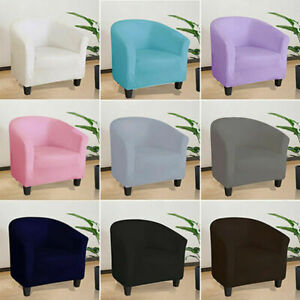 Club Chair Slipcover Stretch Chair Cover Armchair Single Seat Full Slipcover