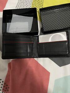 Oroton Mens Credit Card Wallet Black