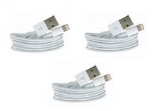3x iPhone Ladekabel Datenkabel Kabel Lightining 5 5s 6 6s 7 Plus 8 X iPad XS Max