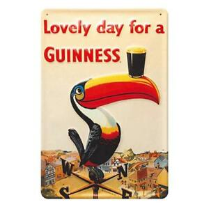 Guinness metal Toucan Weather Vane  Sign