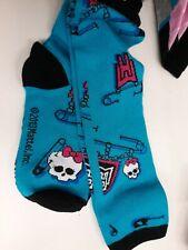 Girls Monster High Knee Socks (2PR) Sock Size 9-11 NWT