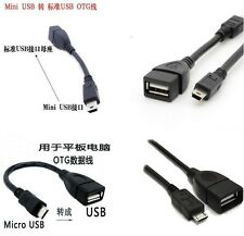 Micro USB 2.0 A Female to B Male Converter OTG Adapter Cable for HTC  Android