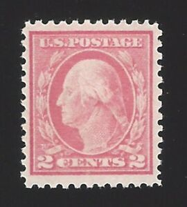 US #461 1915 Pale Carmine Red Type I Wmk 190 Perf 11 MNH VF Scv $290
