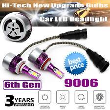 9006 HB4 9012 LED Headlight Kit 300W 6000K White Bulbs Low Beam Super Bright 2X