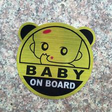 1 x Baby On Board Sticker Vinyl Self-adhesive Car Safety Sticker CHILD CHILDREN