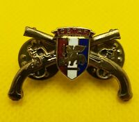 SETAF Military Police Officer Collar Brass Badge Pin MP US Army Patch Insignia