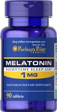 Puritan's Pride Melatonin 1 mg - 90 Tablets