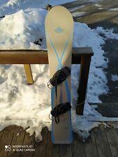 Snowboard usato gothic altezza 151 hard