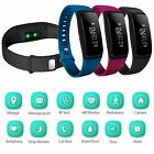 Waterproof Activity Tracker Heart Rate/Blood Pressure Monitor Wrist Smart Watch