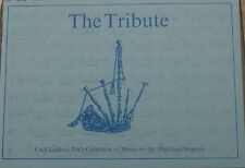 The Tribute by Cecil Lindsay music book for highland bagpipe