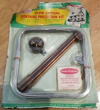 Vintage TV-FM Antenna No.3496 by SOUTH RIVER METAL PROD.  NEW/UNOPENED