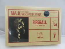 Nitto ZbV 3000 MASCHINEN KRIEGER FIREBALL S.A.F.S. 1/20 Scale Model Kit NEW