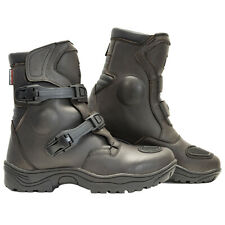 Richa Colt ADVENTURE Brown Short Motorcycle Boots WITH DOUBLE ADJUSTMENT ZE