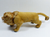VINTAGE MARX MECHANICAL WALKING & GROWLING TOY LION  MADE IN JAPAN