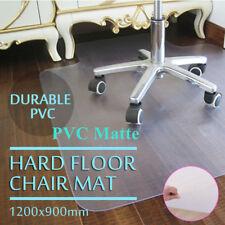 """48""""x36"""" Plastic Hard Floor Mat Protector Office Chair Wood Floor Computer Desk"""