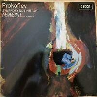 SXL 6120 Prokofiev Symphony No. 5 / Ansermet TEST PRESSING