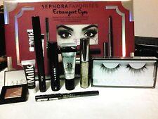 Sephora Favorites Extravagant Eyes Smoky Eyes Essentials & Extras 8pcs w/Receipt