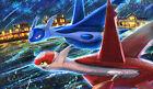 383 Pokemon Latios  Latias PLAYMAT CUSTOM PLAY MAT ANIME PLAYMAT FREE SHIPPING