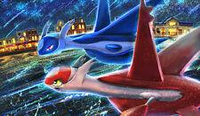 383 Pokemon Latios & Latias PLAYMAT CUSTOM PLAY MAT ANIME PLAYMAT FREE SHIPPING