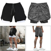 For Gym Fitness Body Building Men Quick Dry Sports Shorts Pants Casual Clothing
