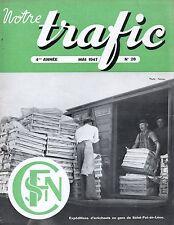 NOTRE TRAFIC n°28 mai 1947 saint pol de leon