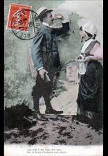 BLETTERANS (39) Le CHASSEUR & l'AUBERGISTE en 1909