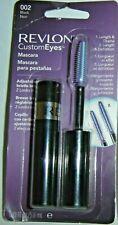 1 Revlon Custom Eyes Mascara, Length & Definition, Adjustable Brush, 002 Black