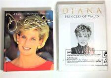 Lot of 2 Princess Diana Hardcover Books  Royal Family Buckingham Palace