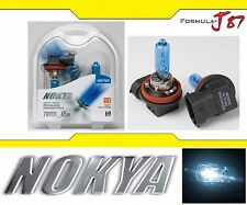 Nokya 7000K White H9 Nok7425 65W Two Bulbs Head Light High Beam Replacement Lamp