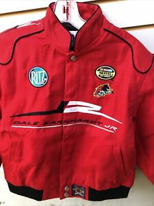 NASCAR Driver Dale Earnhardt Jr 8 Youth Twill Style Jacket In A Size XL & 2xlNew