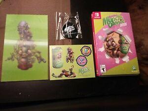 Oddworld Munch's Oddysee Limited Edition Nintendo Switch *Read Description*