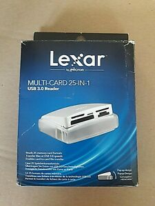 Lexar Multi-Card 25-in-1 USB3 Reader