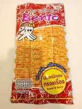 BENTO SEAFOOD SNACK 20 G SEASONED SQUID FLAVOR THAI SWEET SPICY FOOD NEW