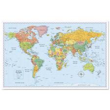 Rand McNally M-Series Full-Color World Map - RM528012754