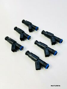6 x New Fuel Injector for Jeep Wrangler TJ 4.0L 1996-2004 INJ/TJ/001A