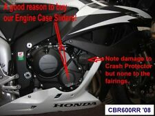 Honda CBR600RR 2007 2008 R&G Racing Right Engine Case Slider ECS0030BK