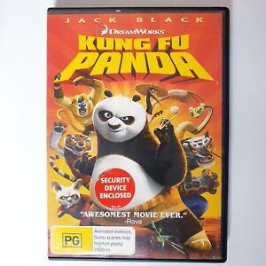 Kung Fu Panda Movie DVD Region 4 AUS Free Postage - Kids Children Comedy