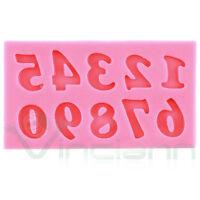 Stampo silicone Numeri decorazione numero torta dolci pasta zucchero Cake Design