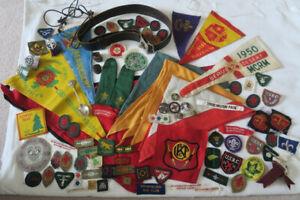 Boy Scout Memorabilia Badges Collection