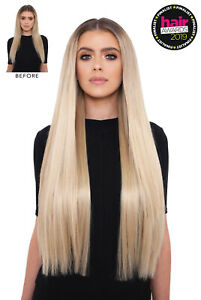 LullaBellz 26 Inch Hair Extensions 5 Piece Synthetic Straight Clip In Hair