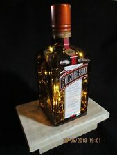 'I'LL HAVE ORANGE IN MINE!' Recycled decorative Cointreau Table lamp 4.5V
