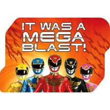 POWER RANGERS Mega Force THANK YOU NOTES (8) ~ Birthday Party Supplies Cards