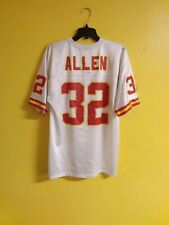 🏈 KANSAS CITY CHIEFS #32 MARCUS ALLEN VTG LOGO NFL FOOTBALL JERSEY MENS  - M