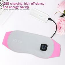 Electric Heating Warm Vibration Abdomen Waist Support Massage Belt USB Charging